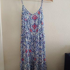 Mossimo floral maxi dress